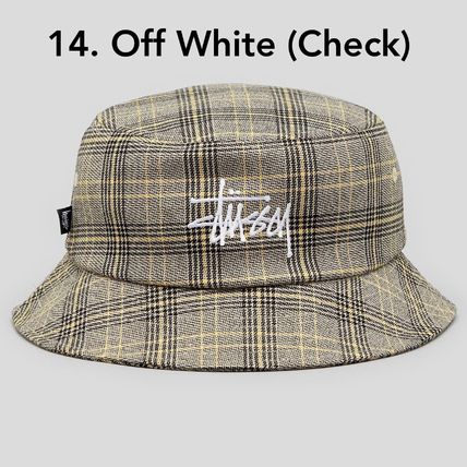 STUSSY ハット 送料追跡込 [STUSSY] Stock Bucket Hat バケット・ハット(16)
