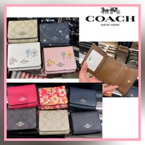 [COACH] 三つ折財布 small trifold wallet IDウィンドウ♪