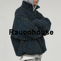 Rarucohouse Light Warm Leopard Zip-Up Jumper