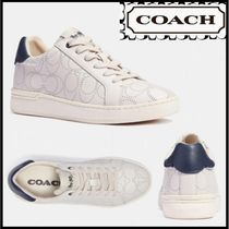 COACH ロゴ ロートップスニーカー Clip Low Top