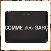 ≪COMME DES GARCONS WALLETS≫CDGHugeLogoポーチ★送料関税込み