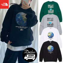 THE NORTH FACE THINK EARTH SWEATSHIRTS YJ912 追跡付