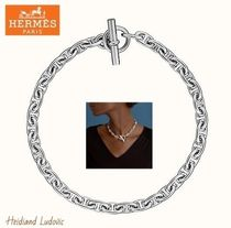 【HERMES】ネックレス「Chaine d'Ancre シェーヌ ダンクル」MM