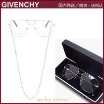 【GIVENCHY】 アビエイターメガネ&チェーン Gold