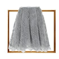 ERMANNO SCERVINO(エルマノシェルビーノ ) スカート 関税込☆Tulle and lace grey skirt
