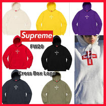 Supreme ◆ FW20 ◆ Cross Box Logo Hooded Sweatshirt パーカー