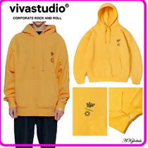[vivastudio] ★ KOMPAKT EVERY DAMN DAY HOODIE JA  [YELLOW]★