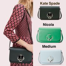 クーポンあり☆【Kate Spade】nicola twistlock medium shoulder