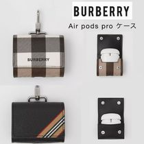 【Burberry】AirPods pro レザーケース