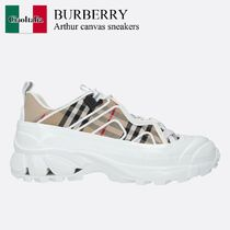 Burberry Arthur canvas sneakers