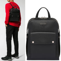 PRM221 LEATHER BACKPACK