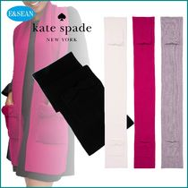【kate spade】pointy bowポケットスカーフ