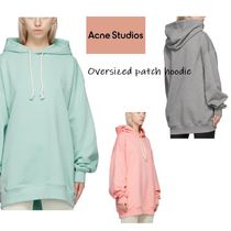 送料関税込★Acne★Oversized patch hoodie3色