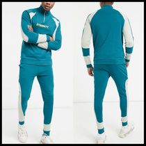 ASOS DESIGN tracksuit with half zip