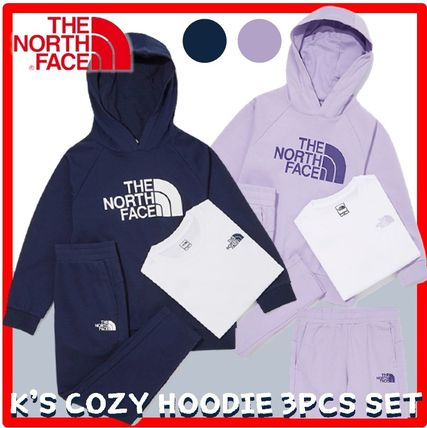 THE NORTH FACE キッズ用トップス ☆人気☆THE NORTH FACE☆K'S COZY HOODIE 3PCS SE.T☆