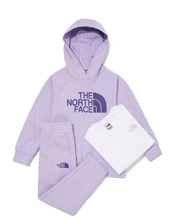 THE NORTH FACE キッズ用トップス ☆人気☆THE NORTH FACE☆K'S COZY HOODIE 3PCS SE.T☆(2)