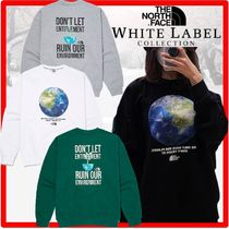 ★新作/人気★THE NORTH FACE★THINK EARTH SWEATSHIRT.S★