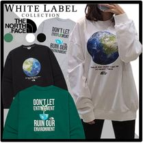 ★関税込★THE NORTH FACE★THINK EARTH SWEATSHIRT.S★