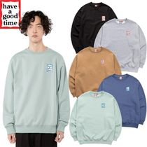 【have a good time】 MINI FRAME CREWNECK SWEAT 5色