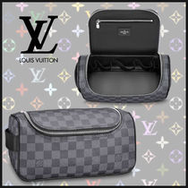 Louis Vuitton トワレポーチ ダミエ グラフィット バッグ