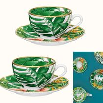 2sets〈パシフォリア〉Passifolia tea cup,saucer20cl(P044016P)