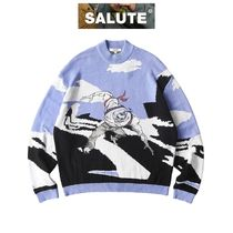 【SALUTE】VILLAIN CARTOON ARTWORK SWEATER