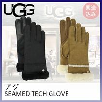 UGG*SEAMED TECH GLOVE*関送込み