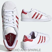 【英国発】adidas☆スーパースター☆Superstar☆Cloud White/Red