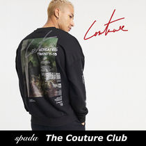 SALE【Couture Club】グラフィック スウェット / 送料無料