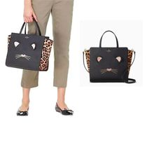Kate Spade  Leopard Hayden Run Wild Cat バッグ 関税送料込