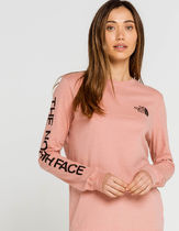 THE NORTH FACE★US買付/送料・関税送料込★長袖ロゴTシャツ