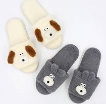 ROMANE(ロマネ) 家具・日用品その他 【ROMANE】 Brunch Brother Fluffy Home Slippers (230-250mm)