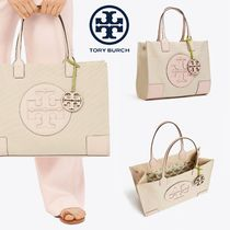 春夏Toryburch Ella Mini and Large キャンバストート