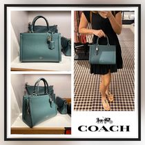 [COACH] SALE!! エレガント スネーク柄 ZOE CARRYALL