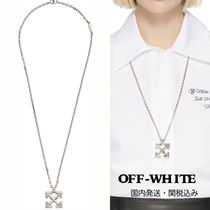 【Off-White】silver色  Arrowsネックレス(関税・送料込)