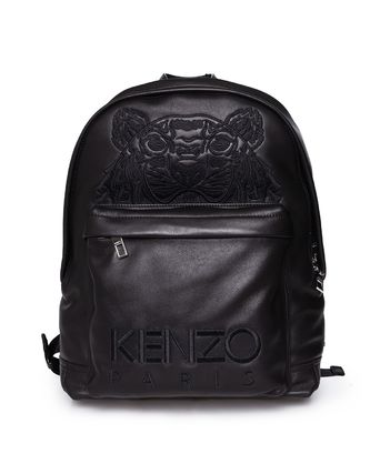 [KENZO] Tiger Leather Backpack 99 イタリアレザーバックパック