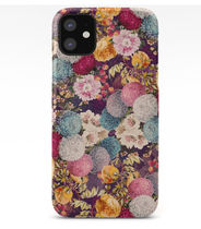 *Society 6*   Exotic garden x iPhone ケース