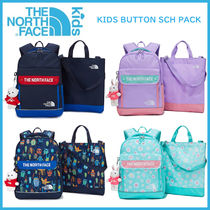 THE NORTH FACE 21SS KIDS BUTTON SCH PACK_NM2DM03