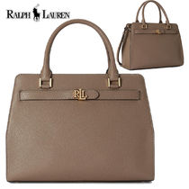 特価! Ralph Lauren 大サイズ Leather Fenwick Crossbody Bag