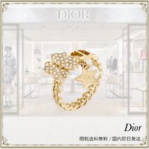 Dior D-CLOVER リング 幸運の四つ葉リング すぐ届く♪