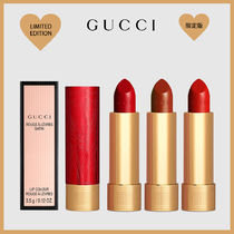 [GUCCI] LIMITED SATIN LIPSTICK RED 口紅3色★レッドリミテッド