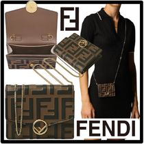 ★フェンディ★FENDI★FF Logo Chain wallet mini ba.g★正規品