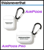 【THISISNEVERTHAT】T-Logo AirPods & AirPods Pro Case Clear