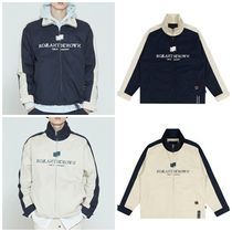 [ROMANTICCROWN] LOGO COTTON WINDBREAKER★2色