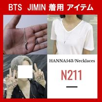 ★BTS JIMIN 着用★HANNA543 N211 neckless ネックレス 送料無料