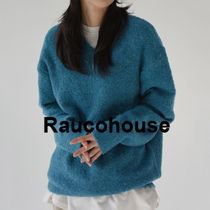 Rarucohouse Crochet Booklet V-neck  Knitw