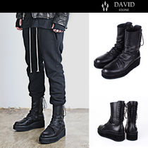 [DAVID STONE] Back Lace-up Boots★BTSジョングク着用★男女