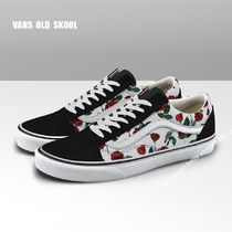 VANS★OLD SKOOL RED ROSES★花柄★兼用