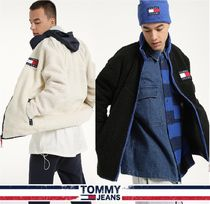 TOMMY JEANS★正規品★Oversized Flag Badge Sherpa Zip-Up/追跡