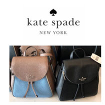 kate spade☆leila medium flap backpack バックパック☆送料込